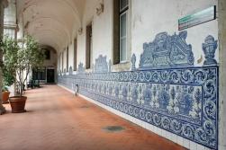 Lisboa, Hospital de Santa Marta, Claustro
